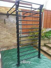 MONSTER POWER RACK WALL MOUNTED & SQUAT RIG PULL UP ...
