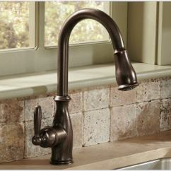 Kitchen Fixtures Microwave Choosing Faucets Wall Mounted Bronze