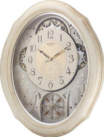 Ivory Cottage 4MH873WU03 Rhythm Clock