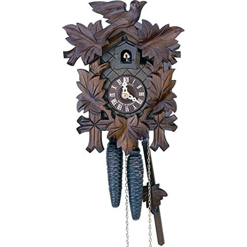 9 Inches Tall Model # 11-09 River City Clocks One Day Hand-Carved ...