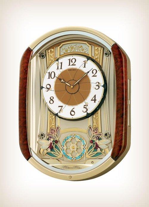 Seiko QXM275BRH Melodies in Motion Clock