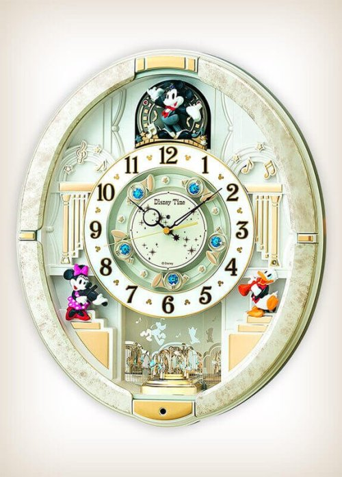 Seiko FW574W Disney Characters Melody in Motion Clock