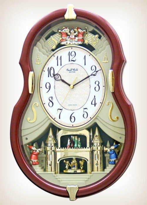 Viola Entertainer II Rhythm Clock 4MH829WD06