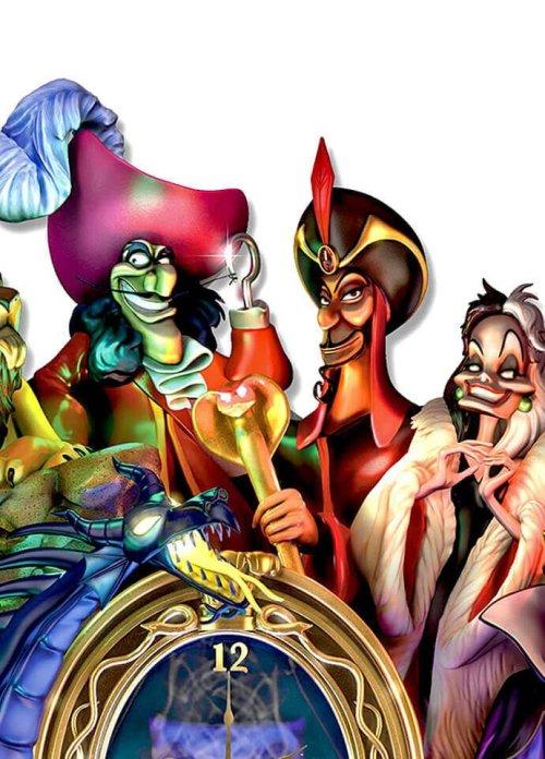 Disney Timeless Treachery Cuckoo Clock