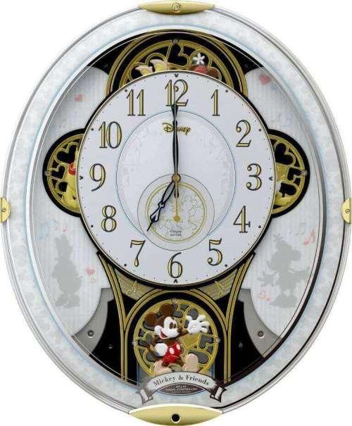 Mickey and Friends Rhythm Clock 4MN509MC03