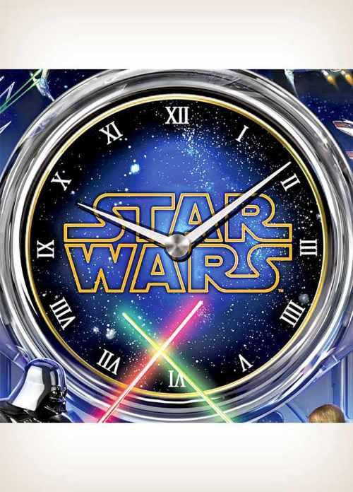 The Star Wars Clock: Return of the Jedi Wall Clock