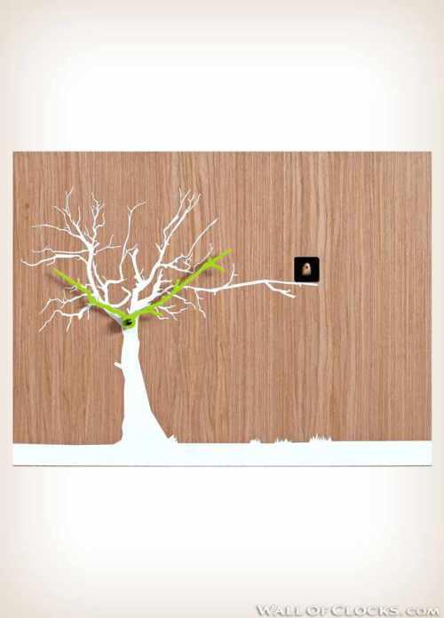 Progetti Oak wood natural Cucuruku cuckoo clock