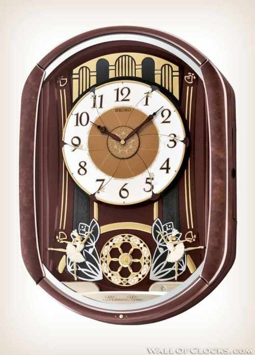 Seiko QXM297B Ballerina Melodies in Motion Clock-1