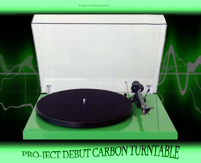 Pro-ject Debut Carbon Turntable Review | Wall of Sound