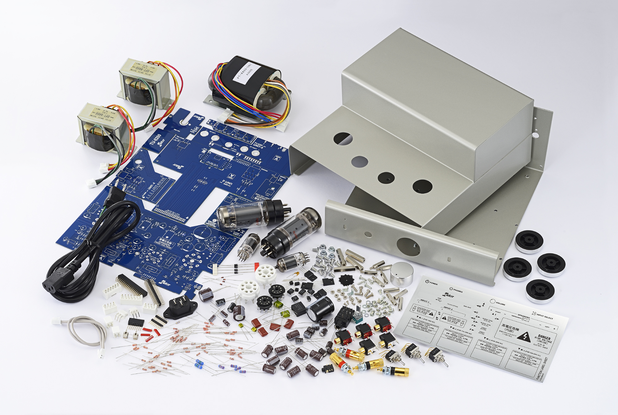 Elekit TU-8200-DX integrated amplifier/headphone amplifier kit