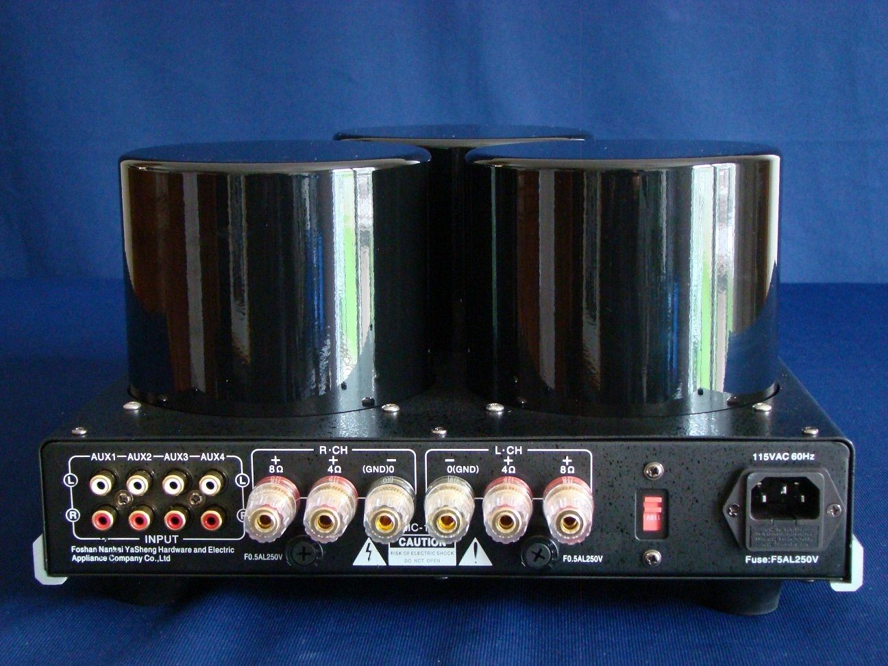 Review Yaqin Mc13s Stereo Integrated Amplifier Wall Of Sound The Fu29 Pushpull Circuit Amplifiercircuit Diagram Chassis Is Very Well Made You Can Choose To Love It Or Hate On Your Own Not Steam Punk Enough For Me Four Line Inputs