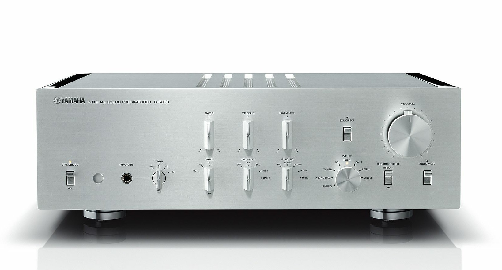 Top Of The Line Hifi Gear From Yamaha Announced Wall Sound Being In To Radio Control Since Mid 70 S C 5000 This 42 Lb Preamp Boasts High End Controls A Copper Plated Inner Chassis And Yamahas Famous Tone Defeat Circuit Glance At Specs Shows