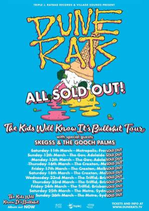 dune rats sold out