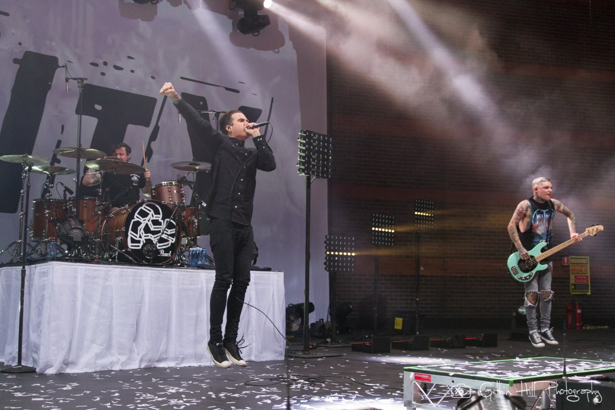 The Amity Affliction - Gig Review & Photo Gallery 24th June @ Riverstage, Brisbane QLD