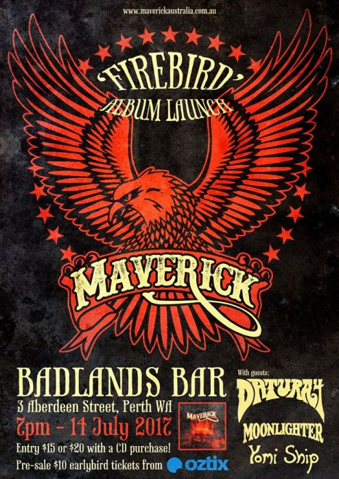 maverick album launhc show