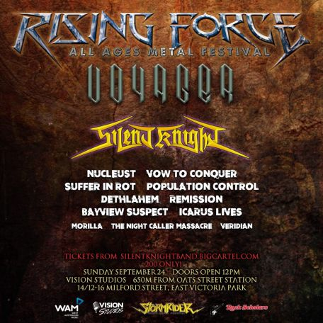 rising force poster