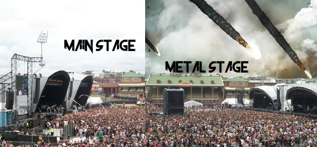 MAIN METAL STAGE