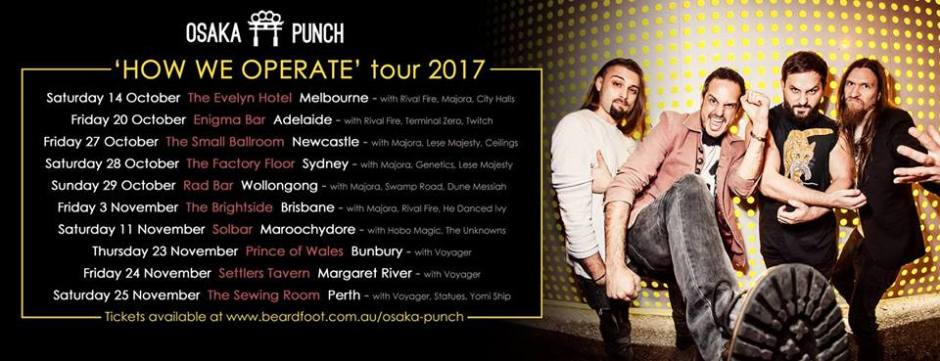 osaka punch tour