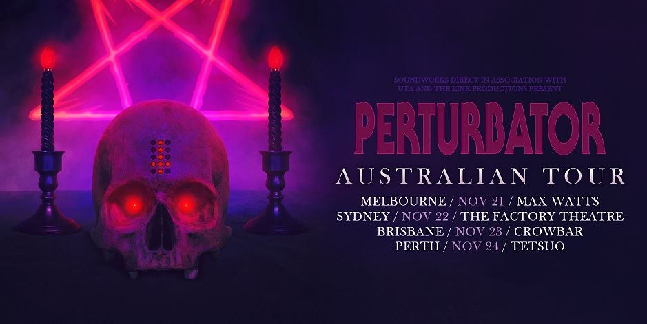 Perturbator - Gig Review 22nd November @ The Factory Theatre, Sydney