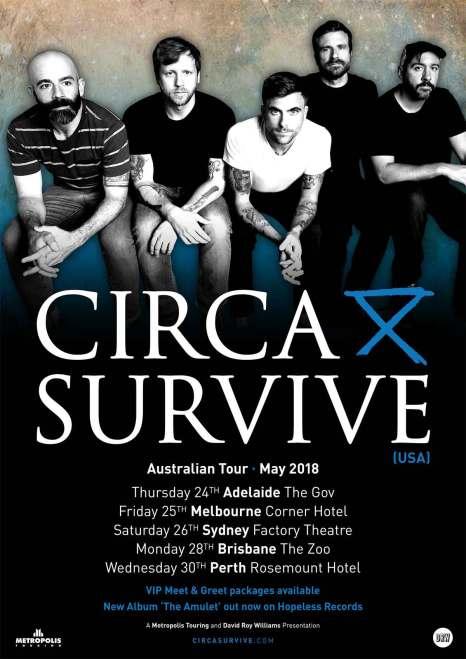 circa survive tour