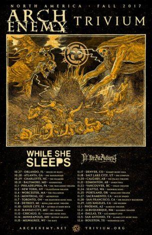 Trivium North America Tour