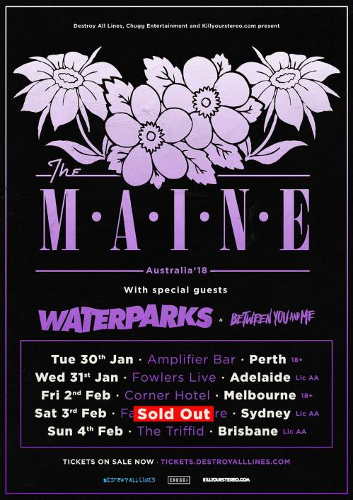 main tour sold out