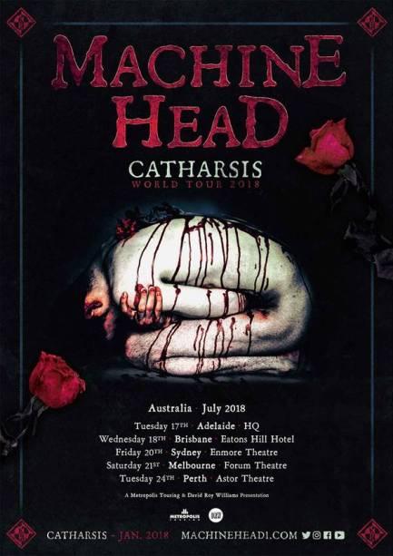 machine head tour