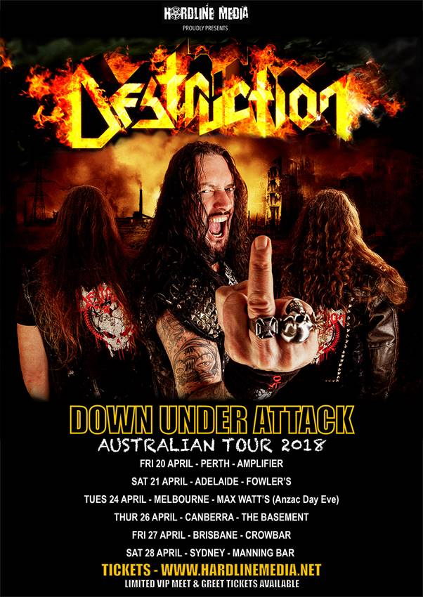 destruction aus tour 2018