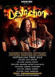destruction aus tour 2018