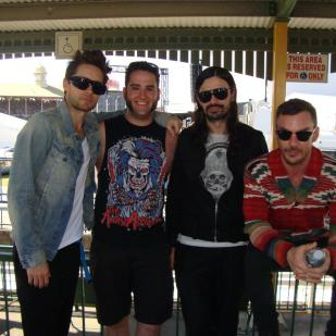 Thirty seconds to mars from raging success to fan exploitive mess 30 seconds to mars soundwave 2011 m4hsunfo