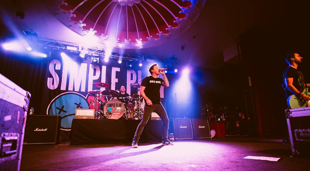 Simple Plan - Photo Gallery 22nd April @ Eatons Hill Hotel, Brisbane QLD