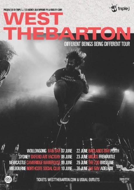 west thebarton tour