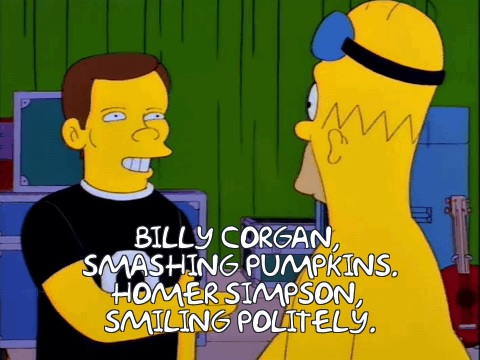billy corgan simpsons