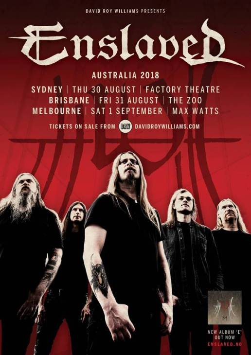enslaved tour