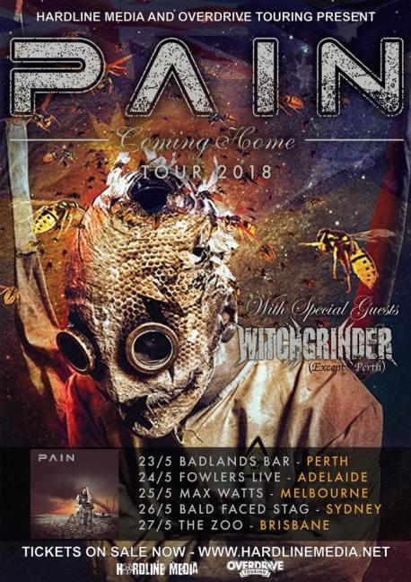 pain tour 2018