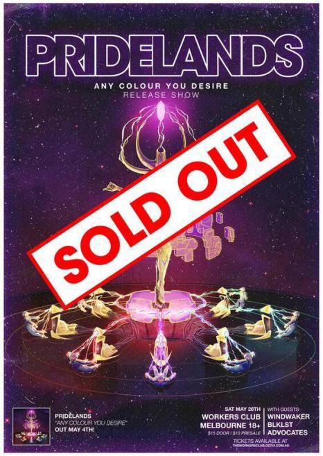 pridelands sold out