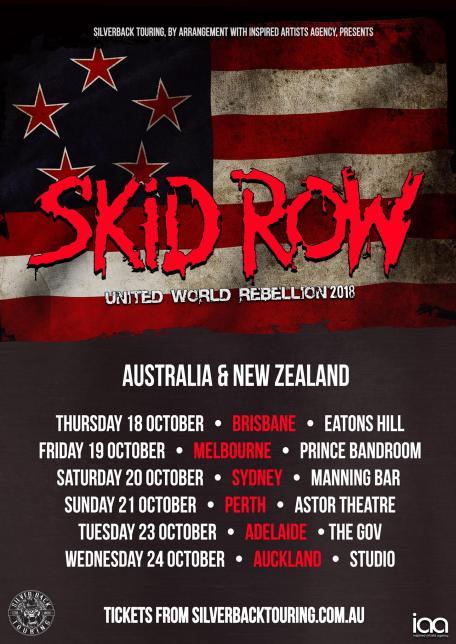 skid row tour