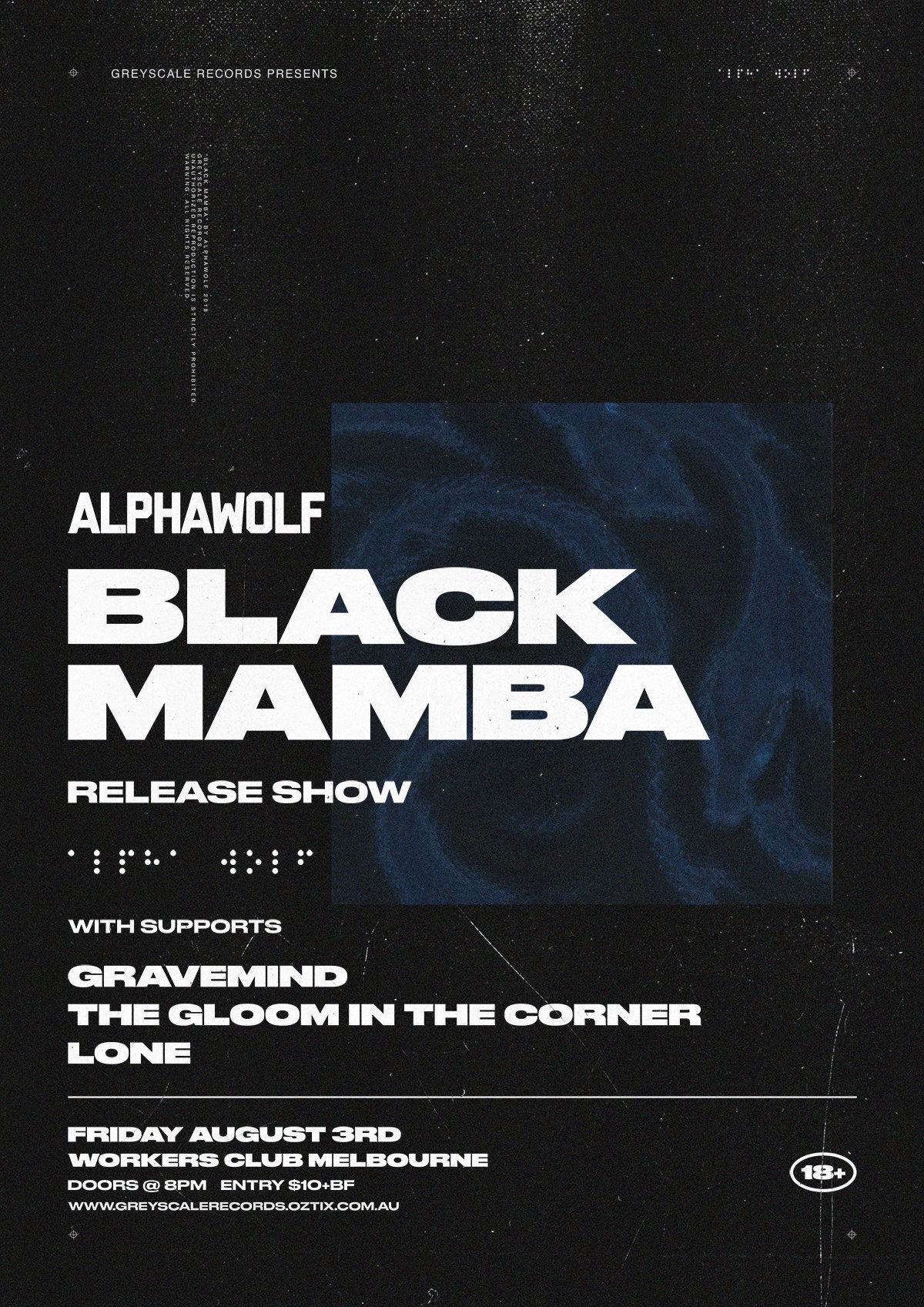 alpha wolf black mamaba show