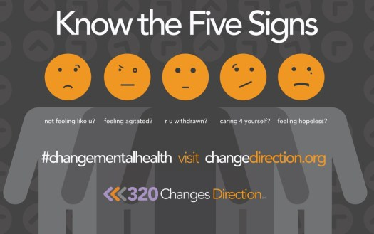 changes direction 5 signs