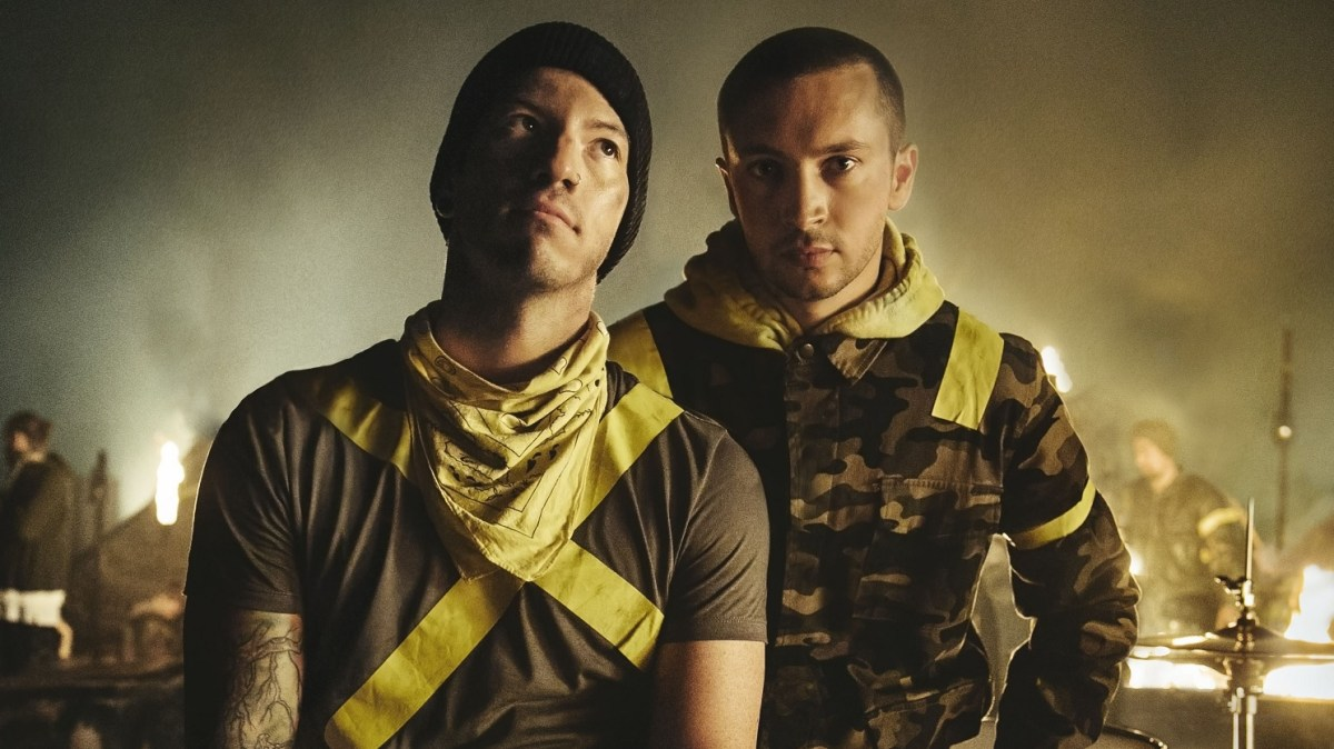 twenty one pilots are flying back into Australia with a new album under their wing