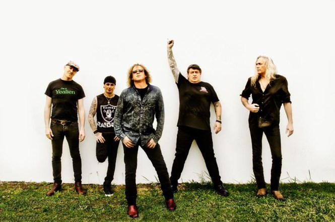 the screaming jets press photo 2018
