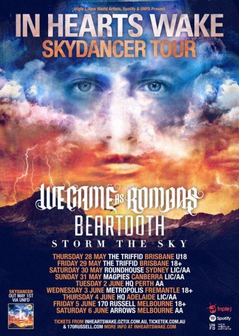 IHW Skydancer tour