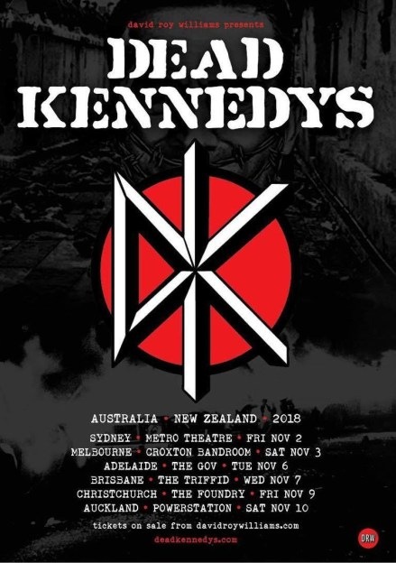 dead kennedys tour
