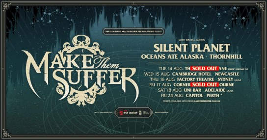 make them suffer tour 2018