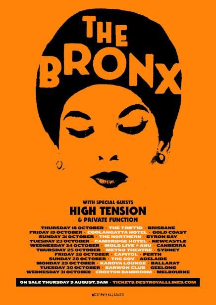the bronx 18 tour
