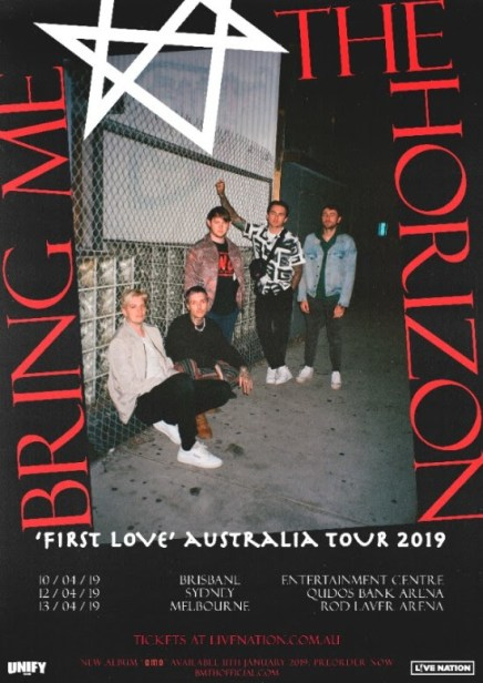 Bring Me The Horizon East Coast Tour 2019
