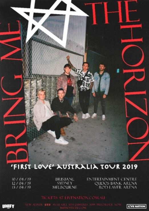 Bring Me The Horizon East Coast Tour 2019