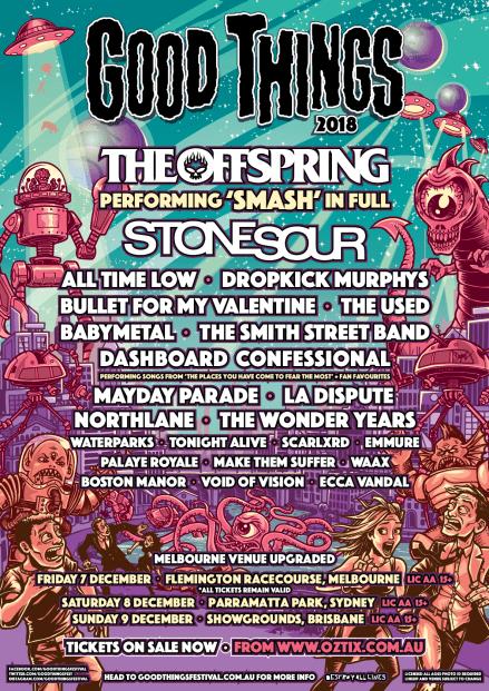 Good Things Festival NEW venue
