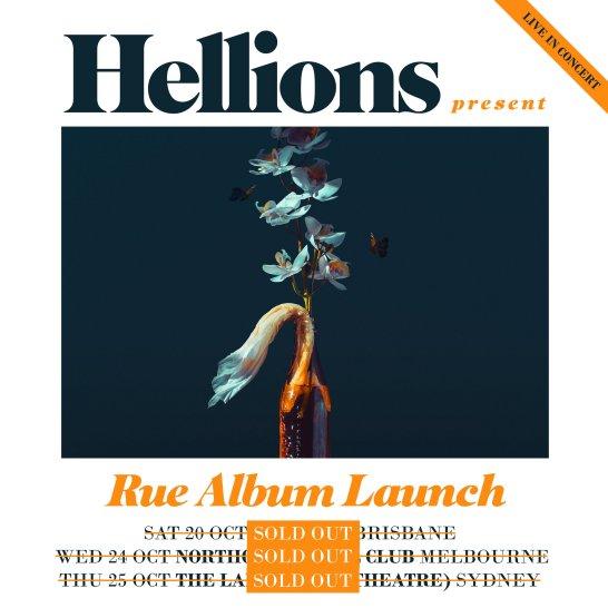Hellions Rue Album Tour