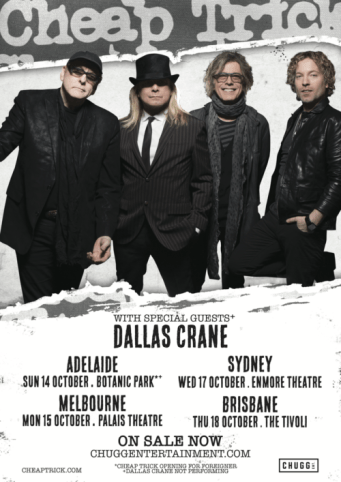 cheap trick aus tour